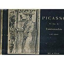 PICASSO - DESSINS DE TAUROMACHIE 1917-1960.