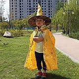 Lxj Día de Disfraces de Halloween niños los niños Mostrar Manto del chamán niños Halloween Calabaza Calabaza Navidad Cabo Chal