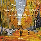 Ravel:Piano Concertos; Falla:Nights In The Gardens Of Spain [Steven Osbourne; BBC Scottish Symphony Orchestra; Ludovic Morlot] [Hyperion: CDA68148]