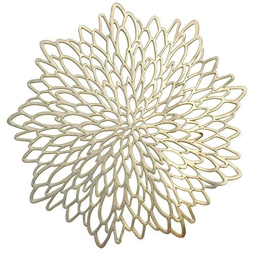 Gold Leaf Teller (Occasions Platzsets, goldfarben a. Leaf Gold)