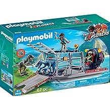 Playmobil - Hidro Deslizador con Jaula, multicolor (9433)