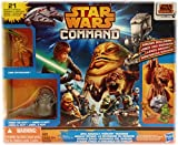 Star Wars Command Epic Assault Figures & Vehicles Playset: Rancor Revenge with Jabba the Hutt by Hasbro