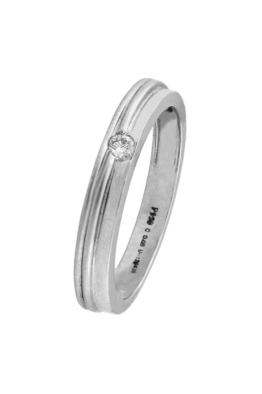 WHP Jewellers 950 Platinum and Diamond Ring