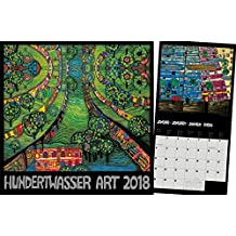Hundertwasser Broschürenkalender Art 2018: Der Besondere