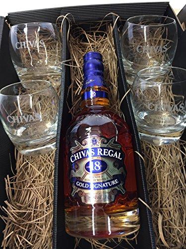 Chivas Regal Set / Geschenkset - Chivas Regal Gold Signature 18 Jahre...