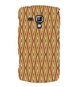 Abstract Pattern 3D Hard Polycarbonate Designer Back Case Cover for Samsung Galaxy S Duos S7562