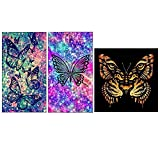 #2: Vodool Butterfly 5D Diamond Painting Embroidery DIY Craft Needlework Home Decor
