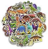 Top Aufkleber!  Set von 50 Aufkleber Dinosaurier - Premium Qualität - Vinyls Stickers Nicht Vulgär Dino - Raptor, Triceratops - Stil, Bombe, Graffiti - Anpassung Laptop, Gepäck, Moto, Skateboard