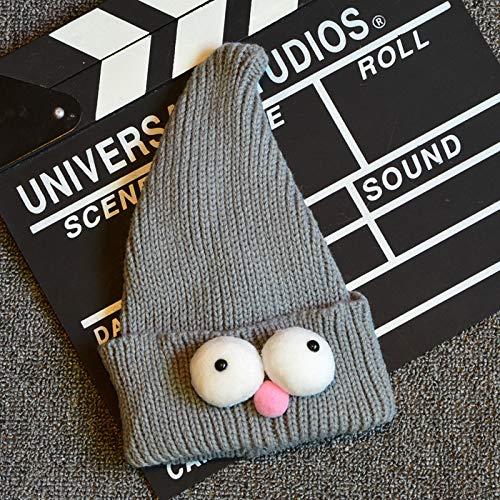 ChildHat 2018 Hut für Kinder,Babymütze Sesamstraße wies Zauberhut Kind Weihnachten Hut Baby Set Baby, grau, Geeignet für 10 Monate bis 3 Jahre