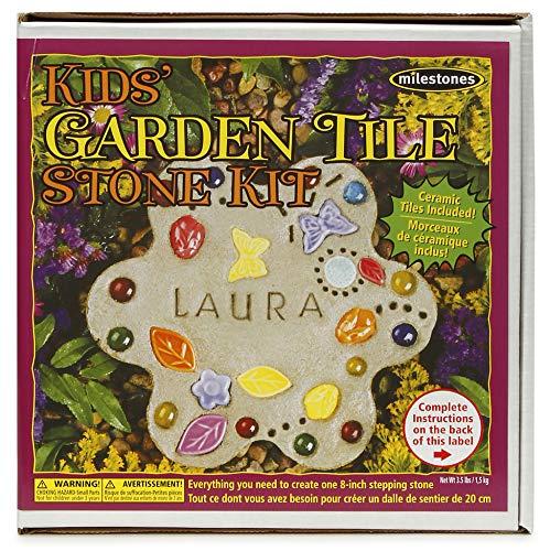 Midwest Mosaic Stepping Stone Kit-Kids' Garden