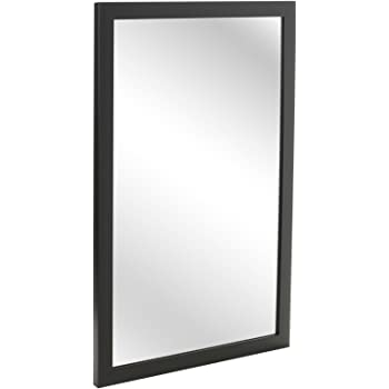 8287e5a1bf621 elbmoebel Wall mirror shabby chic antique style ornate black silver ...