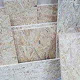 1m² Reste 15mm OSB/3 Grobspanplatte Zuschnitt Holz Platten Feuchtraum-geeignet nach DIN EN 300 Verlegeplatten Holzwerkstoff-Platten Spanplatten