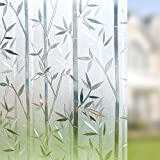 #5: Rising Sparkle Static Cling Decorative Glass Film for Glass Surface D-021 (135cm x 90cm)