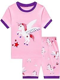 7abda9b43 Girls Cute Owl Pyjamas Set Children Kids Long Sleeve 100% Cotton Pjs  Pajamas Nightwear Sleepwear