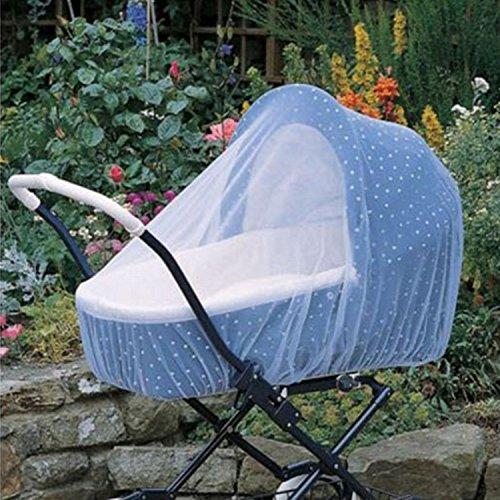 Preisvergleich Produktbild Baby Moskitonetz Kleinkind Bett Kinderbett Baldachin Mosquitonetz für Kinderwagen, Tragetaschen, Autositze, Wiegen 160x 160cm