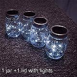 Solar Mason Jar Light, Solar powered LED Garden - Best Reviews Guide