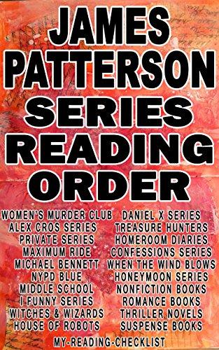 James Patterson Series Reading Order My Reading Checklist Alex