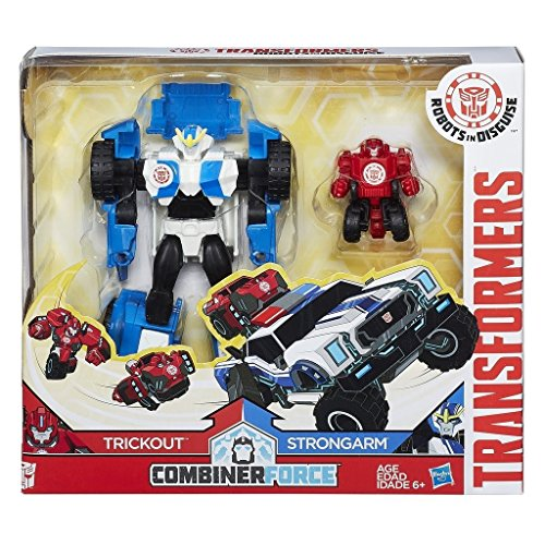 Transformers RID Combiner Force Activator Combiners Strong Arm and Trick Out Figure