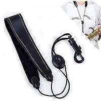 Tracolla per sassofono, sassofono, fascia per sassofono, tracolla imbottita regolabile, collo imbottito, meno stress…