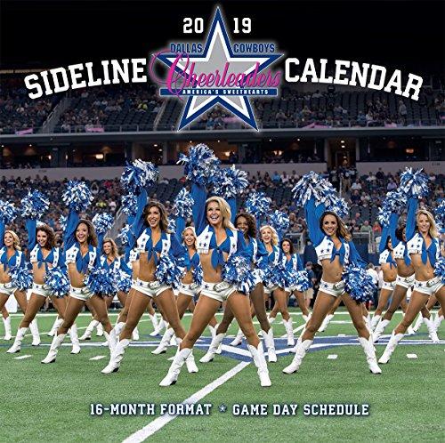 JF Turner NFL Kalender Wandkalender 2019 30x60cm Cheerleaders Dallas Cowboys
