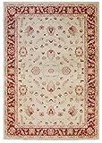 Teppich Wohnzimmer Orient Carpet klassisches Design Windsor Rug 100% Polypropylen 120x170 cm Rechteckig Rot/Grau | Teppiche günstig online kaufen