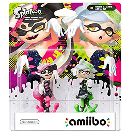 Splatoon Squid Sisters amiibo Double Pack (Nintendo Wii U/Nintendo 3DS)