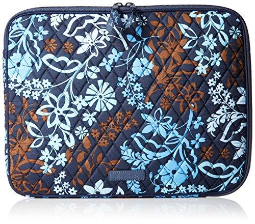 vera-bradley-laptop-sleeve-braun-java-floral-einheitsgrosse