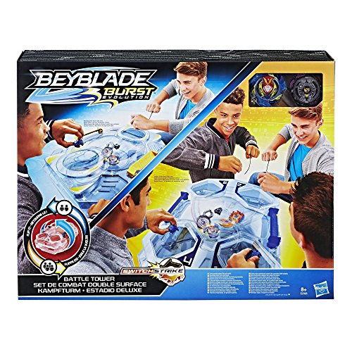Beyblade - Arene Double Surface et toupies Beyblade...