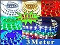 LED Strip RGB (Mehrfarbig) LED Band mit 180 SMD 5050 LEDs Komplett Set mit Netzteil+Controller+Fernbedienung IP65 Wasserdicht 3 Meter von Energmix® auf Lampenhans.de