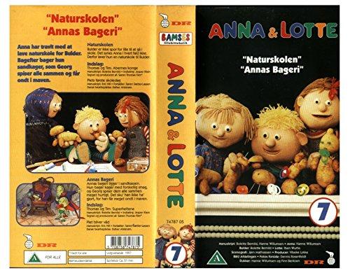"""Preisvergleich Produktbild Anna & Lotte 7 : """"Naturskolen"""" und """"Annas Bageri"""" (dänisches VHS-Video)"""