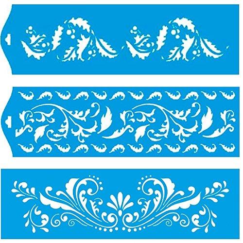 28cm-x-8cm-pochoir-jeu-de-3-reutilisable-en-plastique-transparent-souple-trace-gabarit-tracage-illus