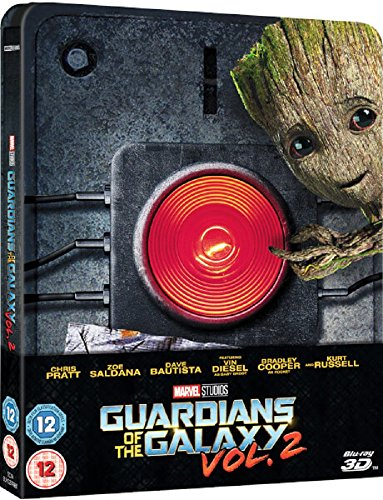 Guardians of the Galaxy Vol. 2 3D (Includes 2D Version) - Limited Edition Steelbook Blu-ray