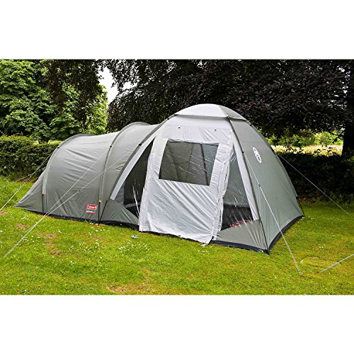61gWU5sK%2BEL. SS500  - Coleman Waterfall 5 Deluxe Tent - Green, 5 Person