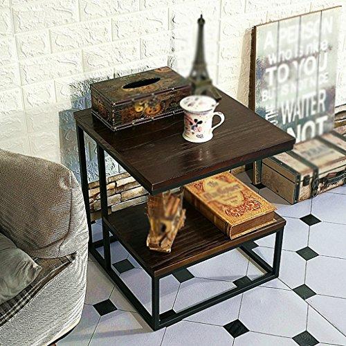 XZG Couchtisch, Restaurant Bar Schlafzimmer Wohnzimmer Hotel Tabelle Kleine Runde Tisch Besprechungstisch Dessert Tisch Beistelltisch Größe 45 * 45 * 50 cm einfaches Leben (Farbe : C) -