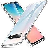 ESR Coque pour Samsung Galaxy S10, Bumper Etui de Protection Transparent en Silicone TPU Mince-Souple, Housse Silicone Flexible pour Galaxy S10 (2019) 6,1 Pouces (Série Essentiel Zéro, Transparent)