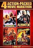 Action Packed Movie Marathon (Cyclone, Alienator, Eye Of The Tiger & Exterminator 2)...