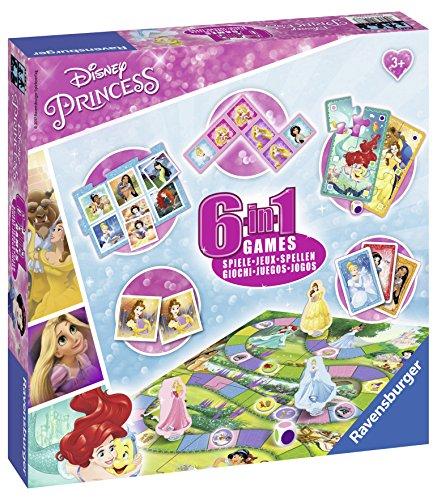 Ravensburger Spiele 6-in-1 Disney Prinzessinnen - 21287