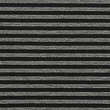 Fabulous Fabrics Scuba Streifen – grau — Meterware ab