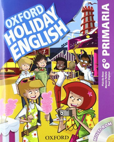 Holiday English 6º Primaria. Pack Spanish - 3rd Edition (Holiday English Third Edition) - 9780194546331