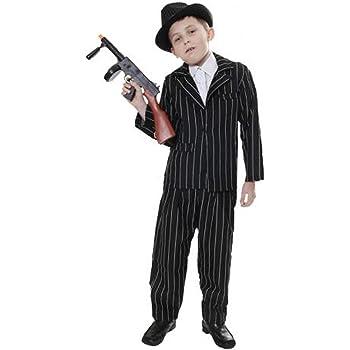 Christy/'s Children Gangster Guy Costume 8-10 Years