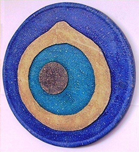 Art-Greus Ojo Turco realizado en Piedra y policromado