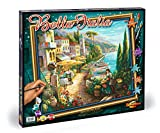 Noris Spiele Schipper 609360557 - Malen nach Zahlen - Bella Italia, 50x60 cm