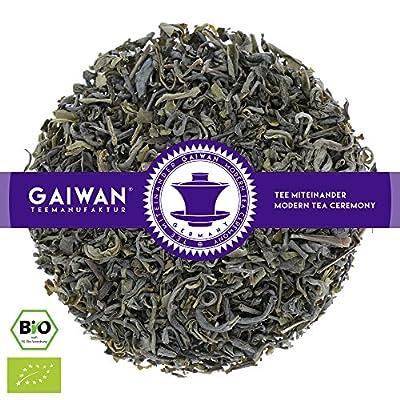 "N° 1175: Thé vert bio ""Vietnam Green"" - feuilles de thé issu de l'agriculture biologique - GAIWAN® GERMANY - thé vert de cultures biologiques contrôlées au Vietnam"