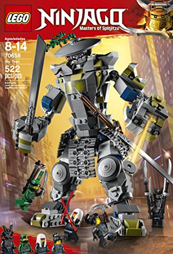 LEGO NINJAGO  Oni-Titan (70658) cooles Kinderspielzeug -