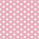 Tilda Medium Dots Pink Fat Quarter