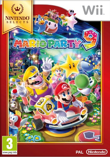 Mario Party 9 - Nintendo Selects (Party Mario Wii 9)