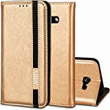 Samsung Galaxy A5 2017 H�lle,Roreikes Business Stil Wallet Handyh�lle TPU Silikon H�lle f�r Samsung Galaxy A5 2017 Handyh�lle Schale Etui Protective Cover Magnetverschlu� Bumper Pour Samsung Galaxy A5 2017 Case(5.2Zoll) medium image