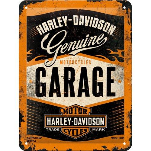 nostalgic-art-26178-harley-davidson-garage-blechschild-15-x-20-cm