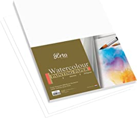Campap Arto A2 Water Colour paper pack (100% cotton cold pressed) 5 Sheets