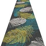 QiangDa Flur Teppich Läufer Langflor Teppiche Lang Dacron Rutschfest Drop-Widerstand Einfach Zu Säubern Mehrere Größen Europäischer Stil, Dicke 6 Mm (Farbe : 1#, größe : 0.6m x 4m)
